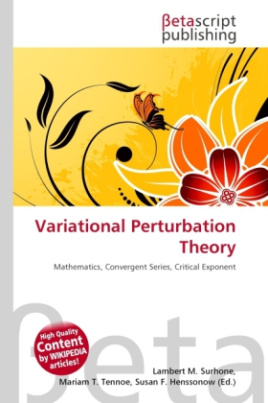 Variational Perturbation Theory