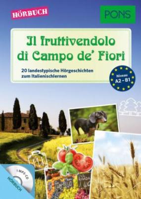 Il fruttivendolo di Campo de' Fiori, 1 MP3-CD mit Begleiheft