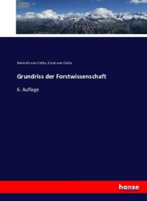 Grundriss der Forstwissenschaft