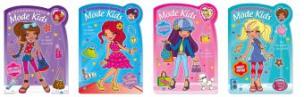 Stickermalbuch Mode Kids