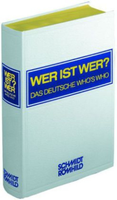 Wer ist wer? Das deutsche Who's Who