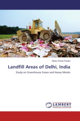Landfill Areas of Delhi, India