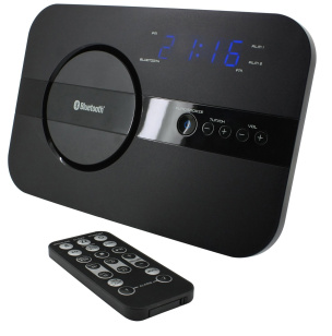 Uhrenradio mit PLL, Dualalarm, Sleep, Snooze, Bluetooth, Aux-In, FB