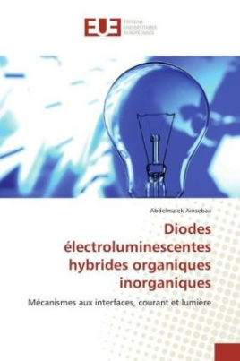 Diodes électroluminescentes hybrides organiques inorganiques