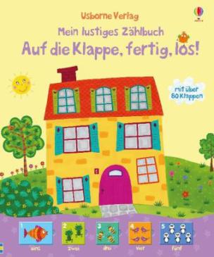 Mein lustiges Zählbuch: Auf die Klappe,fertig, los!