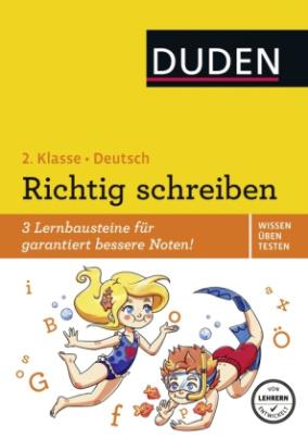 Wissen - Üben - Testen: Deutsch - Richtig schreiben 2. Klasse