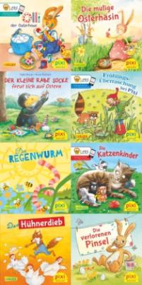 Ostern und Frühling mit Pixi, 8 Bde.