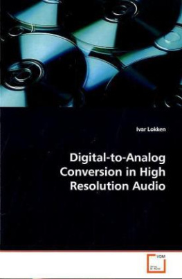 Digital-to-Analog Conversion in High Resolution Audio