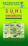 Wanderkarte mit Loipen und Radrouten: Thüringer Wald Nr.9
