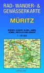 Rad-, Wander- & Gewässerkarte: Müritz (Doppelkarte)
