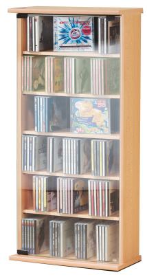 """CD-Schrank """"Vetro - buche"""" für 150 CDs"""